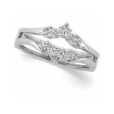 pretty diamond rings   Pretty Diamond Ring Guard