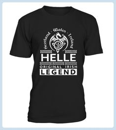 Top Shirt HELLE Original Irish Legend Name front (*Partner Link)