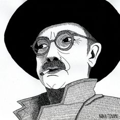 Portrait of Mark Rothko by Ninatown
