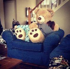 i want a giant teddy bear...
