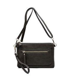 Gray Cross Body Bag