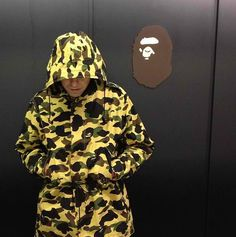 Bape camo Bape Camo Jacket, Bape Shark, A Bathing Ape, Camouflage, Rain Jacket, Windbreaker, Mens Fashion, Guys, How To Wear