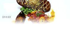 Gotham Bar & Grill - NYC - Cold Smoked Tasmanian Sea Trout & Roasted Berkshire Pork Chop