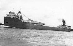 The SS Carl D. Bradley was a self-unloading Great Lakes freighter that sank in a Lake Michigan storm on November 18, 1958. Of the 35 crew members, 33 died in the sinking and 23 were from the port town of Rogers City, Michigan. Her sinking was likely caused by structural failure from the brittle steel used in her construction. She was the sister of the ill-fated SS Cedarville.
