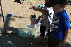 Science with Sand- Sandbox Pendulum | Child Central Station