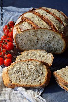 My Favorite Food, Favorite Recipes, Polish Recipes, Bread Rolls, Freshly Baked, Dessert Recipes, Desserts, Bread Baking, Banana Bread