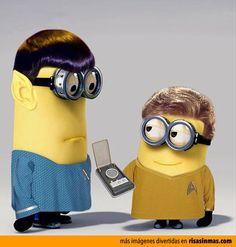 Minions Star Trek.