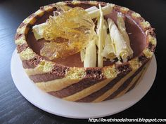 """La vetrina del Nanni: Bavarese """"light"""" al cioccolato in pasta bicolore"""