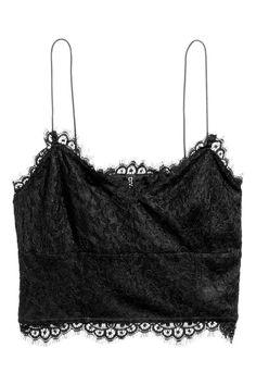 Lace bustier | H&M