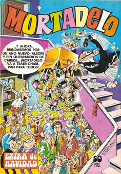 Mortadelo Época 1ª Extra de Navidad 1977