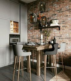 I liked❤️💫 What do you think about? Interior Design Tips, Interior Decorating, Magnolia Homes, Modern Kitchen Design, Dining Room Design, Home Kitchens, Decor Styles, Sweet Home, House Design