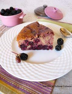 Mon gâteau campagnard aux mûres, l'authenticité de la farine de sarrasin avec des fruits sauvages. www.jecuisinesansgluten.com
