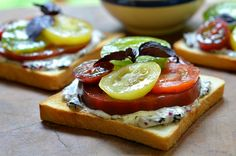 The Best Ever Tomato Sandwich