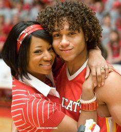 Monique and Corbin...aka Taylor and Chad