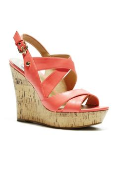 Dovin Wedge Sandals | GuessFactory.com