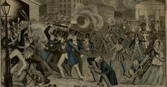 When fear and hatred of Irish Catholics set fire to an American city | #genealogy #ancestry