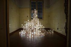 Fragile Future, light installation by Studio Drift in São Paulo Eindhoven, Matarazzo, Studios, Museum, Dutch Artists, Installation Art, Three Dimensional, Ceiling Lights, Holiday Decor