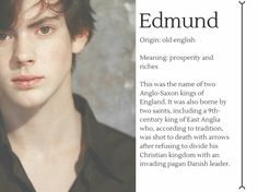 Meaning of Edmund