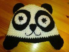 PANDA beanie  - Crochet creation by creativemind | Crochet.Community