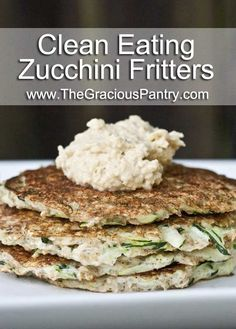 Clean Eating Breakfast Zucchini Fritters