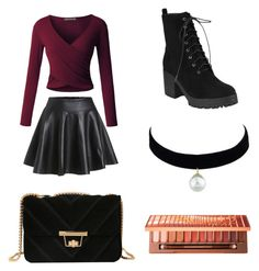 """Sweet"" by cserebecca ❤ liked on Polyvore featuring LE3NO"