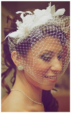 love this stunning birdcage veil! See more pretty images from Boakview Photography here http://www.weddingchicks.com/vendor-guide/boakview-photography/