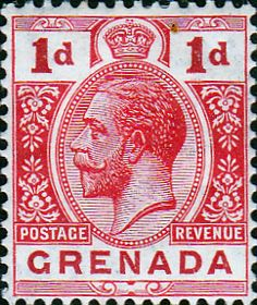 Grenada 1913 King George V Head SG 91 Fine Mint SG 91 Scott 90a Other British West Indies Stamps HereB