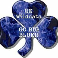 Go Big Blue clover University Of Kentucky Football, Kentucky College Basketball, Kentucky Sports, Kentucky Wildcats, Kentucky Girls, Uk Wildcats Basketball, Basketball Court, Basketball Training Equipment, Go Big Blue