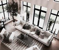 love, perfect et flowers image sur We Heart It Home Design Decor, Dream Home Design, Home Interior Design, Home Decor, Interior Designing, Modern Interior, Design Ideas, Living Room Interior, Home Living Room