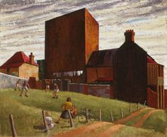 The Vacant allotment, 1947 by Jeffrey Smart