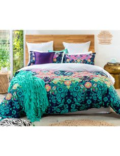 Great Make A Statement With Keiko Tessie Duvet Cover Set, Featuring Exotic And  Bold Patterns In