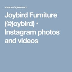Joybird Furniture (@joybird) • Instagram photos and videos