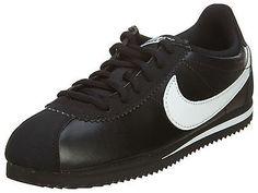 Nike Cortez Gs Big Kids 749482-001 Black White Athletic Shoes Youth Size  4.5 Cortez e5798d638