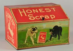 Honest Scrap Tobacco Store Bin. : Lot 282