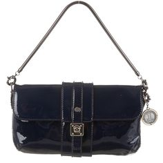 Lanvin Navy Blue Clutch Purse Patent navy blue leather with silver accent hardware. Fold-over magnetic closure. Very sturdy. Received as a gift but never used. Feel free to make an offer or ask questions. Lanvin Bags Clutches & Wristlets