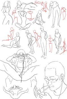 「個人的赤ペン絵と落書き(えちぃのがあるのでR-18)その11」/「0033」の漫画 [pixiv]