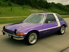 Pacer purple cars, purple trucks, purple SUV, purple classic cars, purple muscle cars Amc Gremlin, Jeep, Pt Cruiser, American Motors, Ford, Us Cars, Car Show, Vintage Cars, Vintage Iron