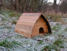 The Hedgepod HedgeHog house by HenBeeGardens on Etsy