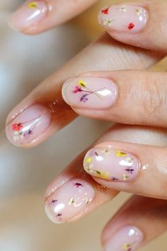 Pressed Flower Nail Art https://www.popsugar.com/beauty/Pressed-Flower-Nails-Spring-2017-43334801?stream_view=1#photo-43334789
