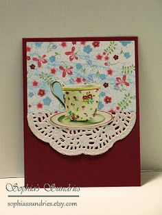 Sophia's Sundries (formerly Frugal Ideas from the Parsonage): Teacup Cards