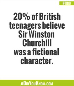 The stupidity of some people. True Facts, Weird Facts, Fascinating Facts, Interesting Facts, Did You Know Facts, Winston Churchill, Stupid People, Trivia, Famous People