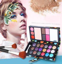 Maquiagem 18 Color Eye Shadows Makeup //Price: $23.60 & FREE Shipping //     #hashtag1  visit our shop @ www.estilistan.com