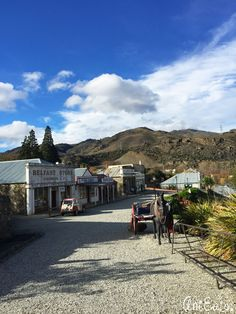 The Old Cromwell Town, New Zealand