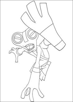 Ben 10 #8 (Cartoons) – Printable coloring pages | 330x236