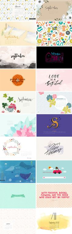 // September 2015 Wallpapers Round-up
