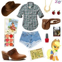 2Daybit - My Little Pony -  Fluttershy inspired outfit http://2daybit.wordpress.com/2014/08/19/applejack-outfit-my-little-pony/  Hasbro – My Little Pony Applejack image by Jeat-zaxl found on devianrt Appleloosa Map by Evaxilth on Deviantart visit our blog for all the links & credits http://2daybit.wordpress.com/2014/08/19/applejack-outfit-my-little-pony/