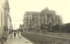 Construcción de la Basílica Nacional de Nuestra Señora de Luján.- Circa 1912