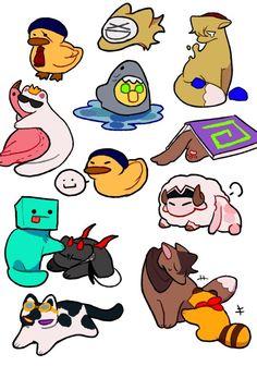 Mc Wallpaper, Dream Friends, Minecraft Fan Art, Just Dream, Dream Art, Fandoms, Dream Team, Cute Drawings, Cute Art