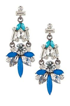 Blair Statement Earrings-- Makes me think of Couture Snowflakes!