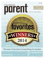 Forty-five categories that matter to parents, voted on BY Colorado parents. It's like having recommendations by your friends. You can count on them! Read our 2014 Family Favorites issue. http://online.publicationprinters.com/launch.aspx?eid=d0ce07f5-425d-4584-b82f-4c6dae5b1fcb